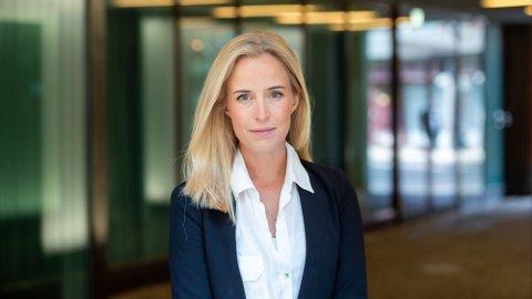 UFORBEREDT: Forbrukerøkonom Thea Olsen i Danske Bank frykter at mange er uforberedte på de høye strømprisene fremover. Foto: (Danske Bank)