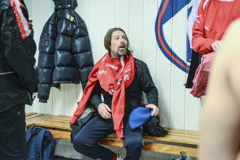 Intet supercomeback: Erik Mykland dro på seg Fram-tøy mandag, men kun for å trene seg opp.Foto: Torgrim Skogheim