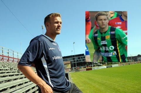 Storfisk: Sportslig leder Pål Henning Albertsen har store forhåpninger til Andreas Drugge (innfelt). Foto: Thor Kenneth Løvenfalck /Rikard Frøberg (Wikimedia Commons).