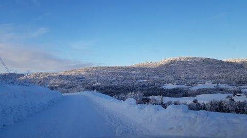 FINVÆR: Vi kan få oppleve en skyfrihimmel over Larvik i vinterferien om prognosene til meteorologen stemmer.