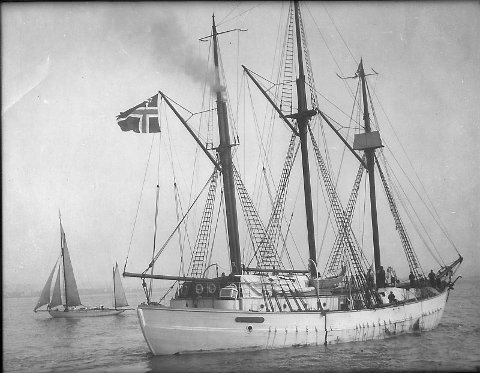 MAUD: Polarskuta Maud tok Oscar Wisting og Roald Amundsen til polare strøk.