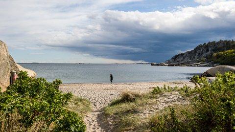 VAKKERT: Vi har en vakker kyst som mange bruker. Bildet er fra Ula.