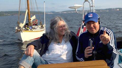 BESTE SENDETID: Hilde Borgir fra Stiftelsen Tollerodden intervjues av Robert Hansen på Norge Rundt denne fredagen.