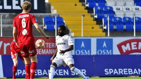 Klar for Fram: Midtbanespilleren Shariff Cham (29) har signert en toårskontrakt med Fram Larvik. Han har de to siste sesongene spilt for Arendal.