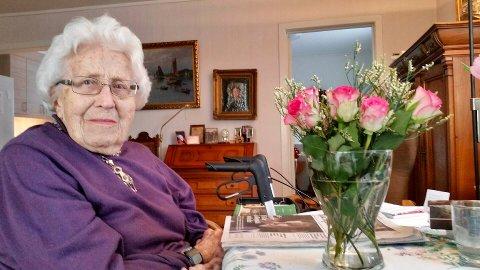 VAR MED I MOTSTANDSKAMPEN: Noni Bonnevie Segelcke fra Larvik var med i motstandskampen under den 2. verdenskrig som kurer, og måtte rømme til fjells da hennes nettverk ble rullet opp i 1945.