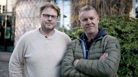 Jørn Lier Horst har signert med Novemberfilm, noe både han og Daglig Leder i produksjonsselskapet, Kjetil Johnsen, er begeistret for.