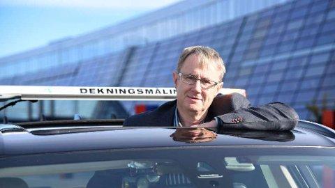 BYGGER UT: Dekningsdirektør Bjørn Amundsen har gode nyheter til dem som venter på 5G i Vestfold og Telemark.