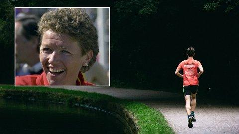 EFFEKTIVT PROGRAM: Ingrid Kristiansen har løpt ti kilometer på 30 minutter. Her røper hun hva slags trening hun mener er mest effektiv. Det innfelte bildet er fra Holmenkollstafetten i 1995.
