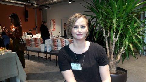 MONICA LILL NORMANN: Er med å arrangerer Norges første messe for negldesignere.
