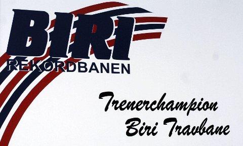 Fortsatt Champion: Bjørn Steinseth klarte å forsvare tittelen som trener-champion på Biri.