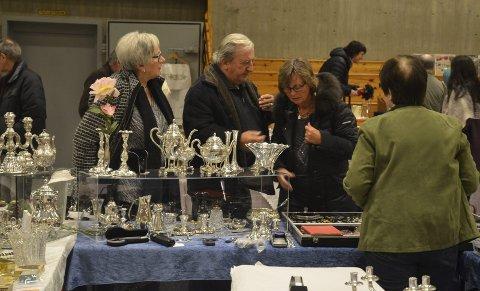 Tradisjon: Neste år er det tiårsjubileum for Kanalbrukets antikk- og samlermesse i Løtenhallen.