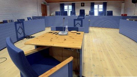 SØR-ØSTERDAL TINGRETT: Her i sal 1 i Sør-Østerdal vil rettssaken mot de tiltalte i ulvesaken foregå. Det er stor offentlig interesse rundt saken. (Foto: Anita Høiby Gotehus)