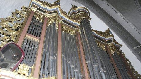 BLIR FLOTT: Det nye orgelet var fint da det sto i Næstved og blir enda finere når det nyoppusset og med ny fasade står i Tynset om to år. (Foto: Privat)