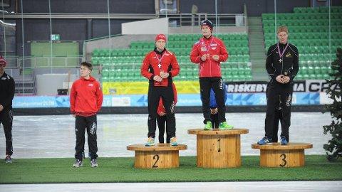 RETT UTENFOR: Bjørnsmoen Næss måtte ta til takke med den sure 4. plassen under dagens 5000-meter i Vikingskipet. (Foto: Wenche Norberg-Schulz)