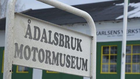 UTVIDER: Ådalsbruk Motormuseum har ryddet plass til Televerkets museumsavdeling, med nyåpning 7. desember.