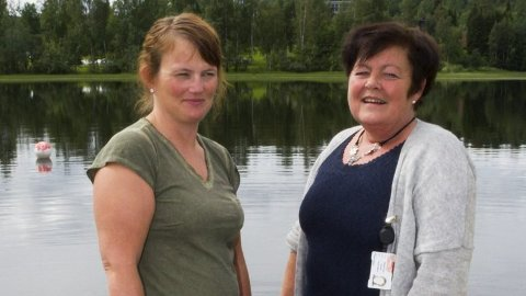 Anniken Bergan-Skar (til venstre) og Sissel Frang Rustad. Foto: Kristin Søgård