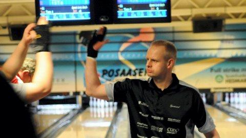 VANT: Gjermund Mathiesen, Solør BK, var beste spiller i KM for Hedmark og Oppland.