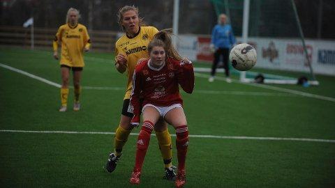 TIL MALLORCA: Ingrid Kleppo Vangen gjør som sin tidligere lagvenninne Kari Solid Nordvang, og flytter til Mallorca for å kombinere skole og fotball i sesongen som kommer.