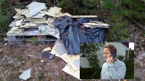 Espen André Kristiansen er irritert over folk som dumper søppel og farlig avfall i naturen. Nå vil han ha en løsning. (Foto: Arkivfoto)