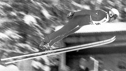 Johan Sætre i Renabakken 1982.
