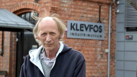 KLEVFOS: Vel 1,9 millioner kroner til vedlikehold kommer godt med, fastslår daglig leder Håkon Tosterud på Klevfos Industrimuseum.