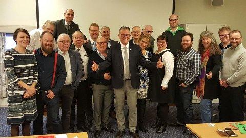 Det nye fylkesstyret i Hedmark FrP. Foto: Privat