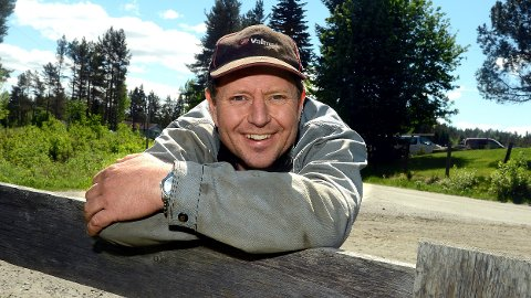 PRIS: Miljøforkjemper og økobonde Thomas Cottis i Løten gjør seg bemerket, også lokalt. (Foto: Anita Høiby Gotehus)