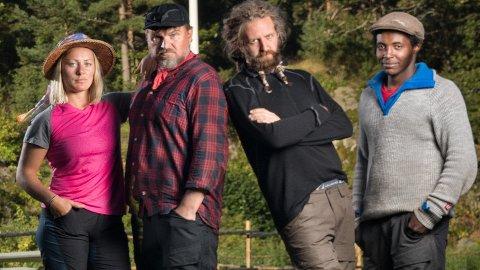 KLAR FOR FARMEN: Ikke helt ukjente Halvor Sveen er klar for TV 2s realityserie Farmen. Sammen med 13 andre deltakere har han i sommer reist 100 år tilbake i tid. Hvordan det gikk får vi altså se på TV i løpet av høsten.
