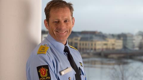 Politimester i Innlandet politidistrikt, Johan Brekke. Foto: Politiet