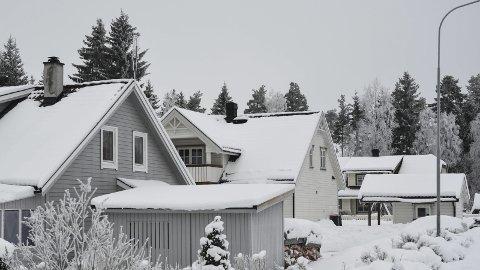 UTVIDES: De fleste boligene i Formervegen, Kjelsmedvegen og Ljåsmedvegen på Ådalsbruk ble bygget på 1970- og 80-tallet. Nå kan feltet bli utvidet vestover med rundt 25 nye tomter.