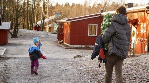 Barnetrygden heves ikke, og makspris i barnehagen økes. Foto: Heiko Junge, NTB scanpix/ANB