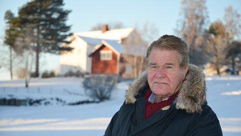 FØDESTED: I andre etasje på Engelaug Østre her på Ådalsbruk ble Edvard Munch født 12. desember 1863. Anders Bronken foreslår å flytte Munch-senteret til samme område.