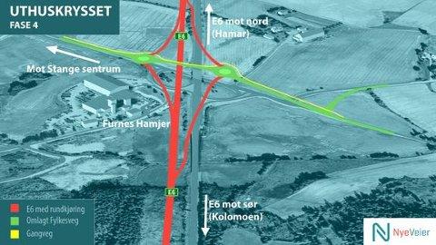 Kart: Nye Veier