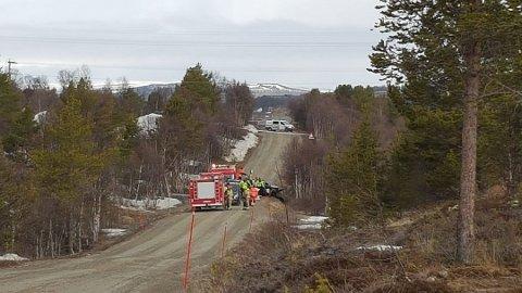 Ulykken skjedde på Dalsveien.