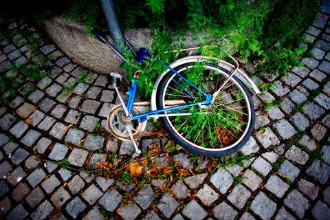 TYVERITOPP: Rundt skolestart finner vi toppen på sykkeltyveri i Norge.