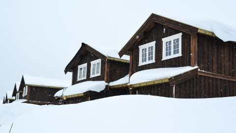 HYTTEDRØM: Løten kommune vil vurdere å tillate hytteeiere å bosette seg fast på hytta, som her i Svaenlia ved Budor.