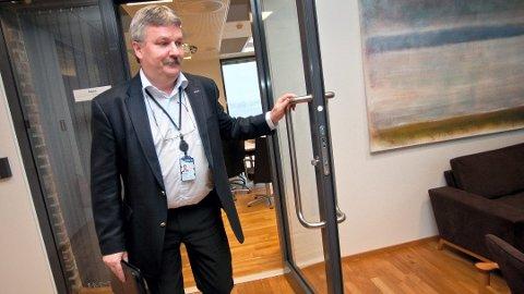 SOLID: – Vi er solide, sier Sparebank 1 Østlandets konsernsjef, Richard Heiberg. Foto: Jo E. Brenden