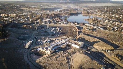 MILJØ: Den nye Ydalir bydel i Elverum er ingen miljøflopp, miljøambisjonene ligger fast, mener artikkelforfatterne.