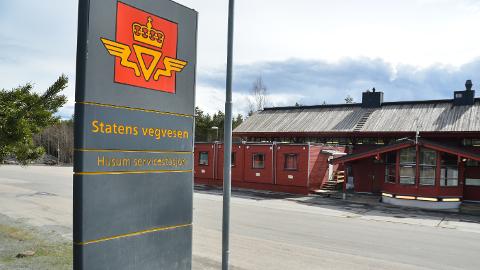 LEDIG PLASS: Vegvesenets kontrollstasjon flyttes fra Husum til Ånestad når den nye riksveg 3/25 er ferdig neste år.