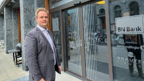 LOJALE KUNDER TAPER: Den ferske avtalen mellom Sparebank 1 og LO er nok et bevis på at norske banker tar for dårlig vare på egne kunder, mener Endre Jo Reite, direktør for privatmarked i BN Bank.  Foto: Stein Nervik