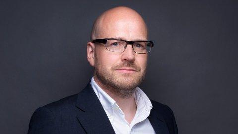 STORE FORVENTNINGER: Pål Nedregotten tror Amedias lesere vil sette pris på krimserien. Foto: Amedia
