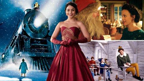 """«Polarekspressen», «Prinsessen og dobbeltgjengeren», «Snekker Andersen og julenissen» og «Elf» er bare noen av julefilmene som skjuler seg i Netflix"""" tolv kategorier knyttet til julen."""