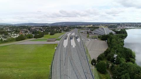 JERNBANETRASE: Østlig alternativ er mest riktig for Elverum og Østerdal når den nye Intercity-jernbanen skal bygges i Hamar.