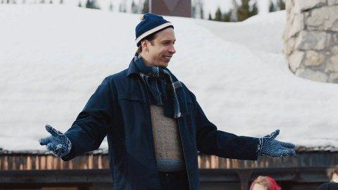 POPULÆR KOMEDIE: Herbert Nordrum i «Fjols til fjells», den norske komedien fra Trysil, som har slått godt an hos kinopublikummet.