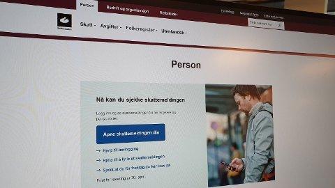 Svindlere utnytter nå at mange venter på melding fra Skatteetaten om skattemeldingen. Foto: Alexander Winger (Nettavisen)