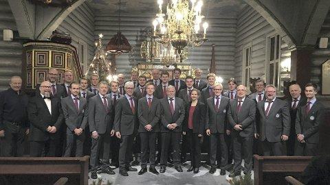 PRISVINNER: Øvre Rendal Mannskor er tildelt Voksenopplæringsprisen i Innlandet.