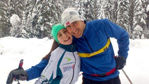 MYE Å SLEKTE PÅ: Pappa Lee Bygrave flyttet til Norge og Elverum midt på 80-tallet for å satse på ski. I Elverum møtte han Toril Røkeberg, og 32 år etter at han selv deltok i VM i Lahti, skal datteren Tuva i aksjon i VM i Oberstdorf.