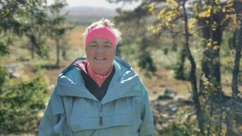 UT PÅ TUR, MEN HVOR: Kristin Sagmoen vet det finnes mange fine turmuligheter i Elverum. Men hvor er informasjonen om dem? spør hun.
