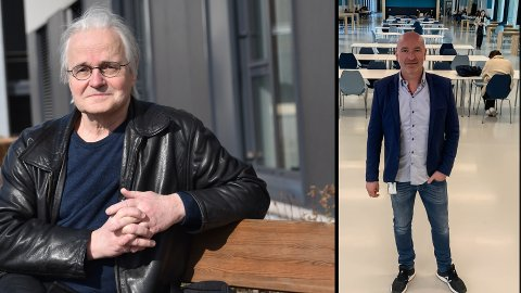 PAUSE: Kommuneoverlege Knut Skulberg (t.v) støtter avgjørelsen som ELVIS-rektor Einar Moan har gjort om hjemmeundervisning og pause i russefeiringen.