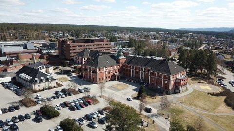 BRANNTILLØP: Snarrådige sykepleiere reagerte raskt da det begynte å brenne på sykehuset i Elverum.
